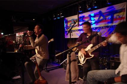 Lebeat band Silkeborg rampelys